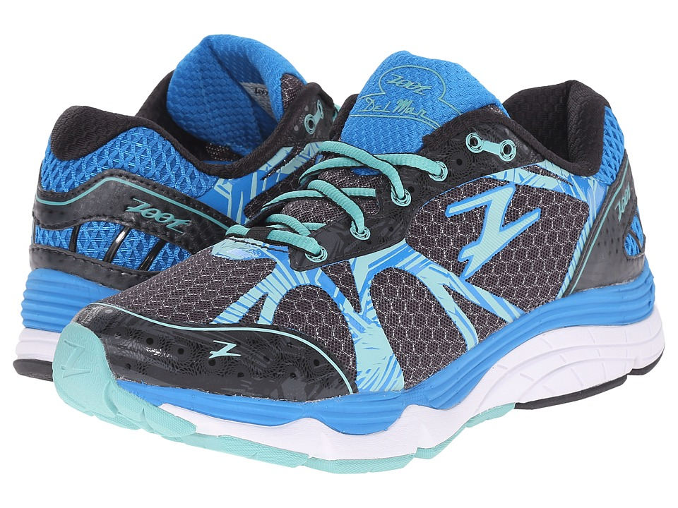 Zoot Sports - Del Mar (Black/Pacific/Mist) Women's Running Shoes