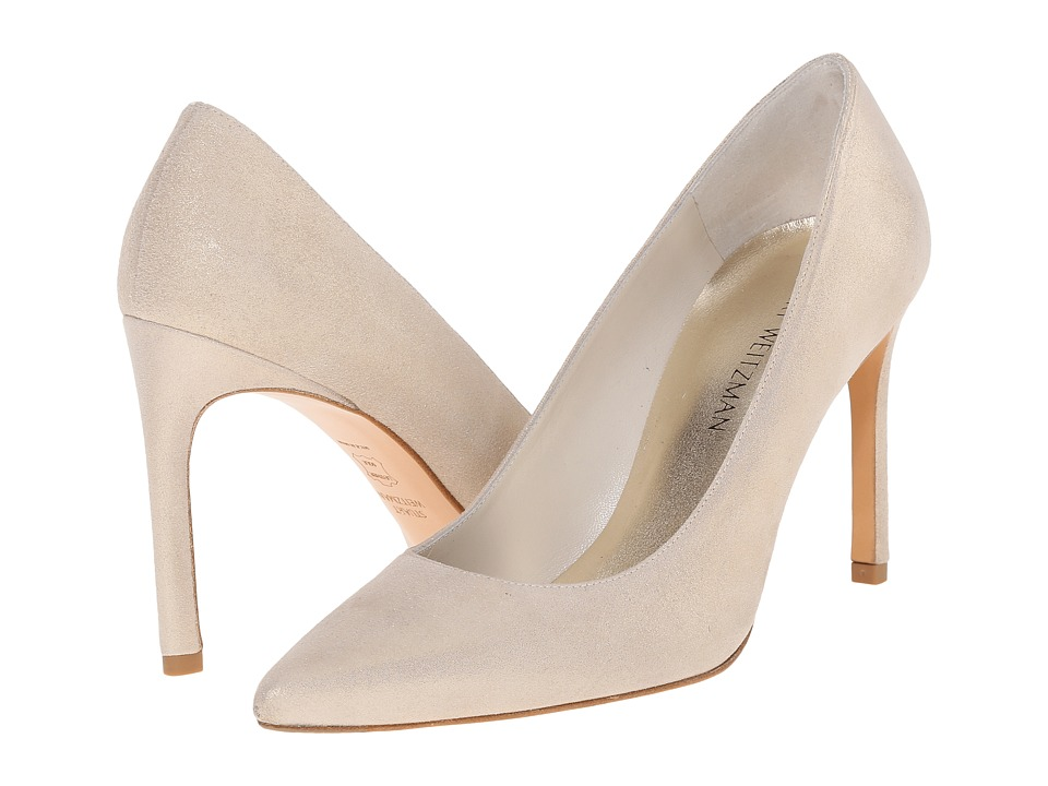 Stuart Weitzman Bridal & Evening Collection Heist (Pale Gold Cipria) High Heels