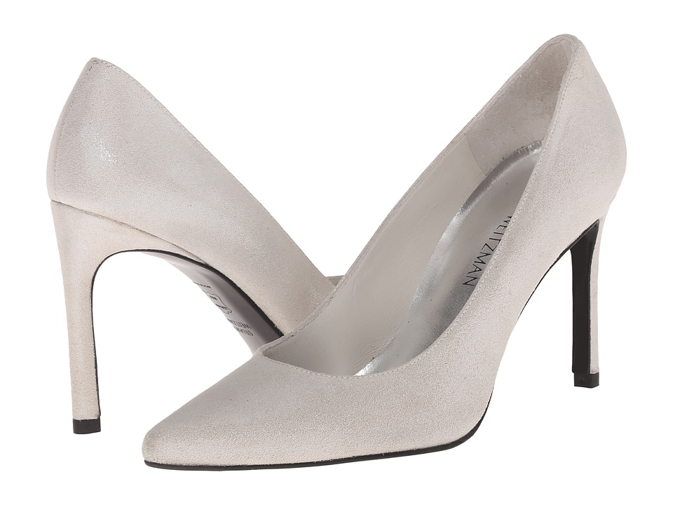 Stuart Weitzman Bridal & Evening Collection Heist (Silver Cipria) High Heels