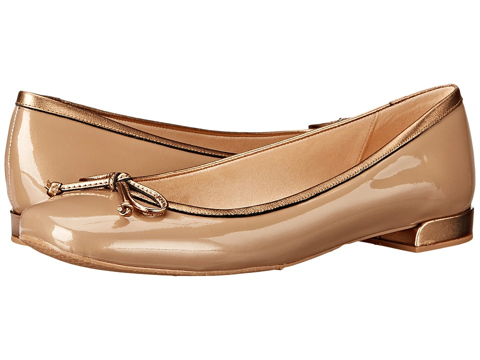 Stuart Weitzman Shoestring (Gold Aniline) Women
