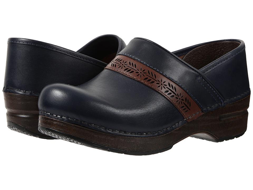 Dansko - Penny (Navy Full Grain) Women's Clog Shoes