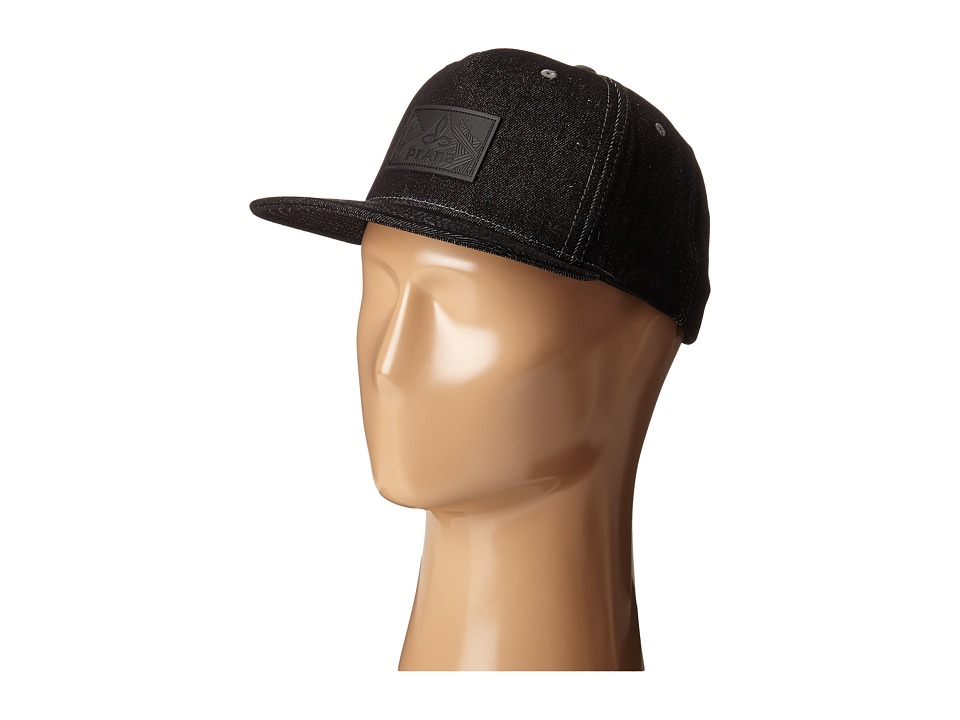 Prana - Kendal Ball Cap (Charcoal) Baseball Caps
