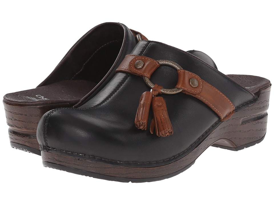 Dansko - Shandi (Black Full Grain) Women's Shoes