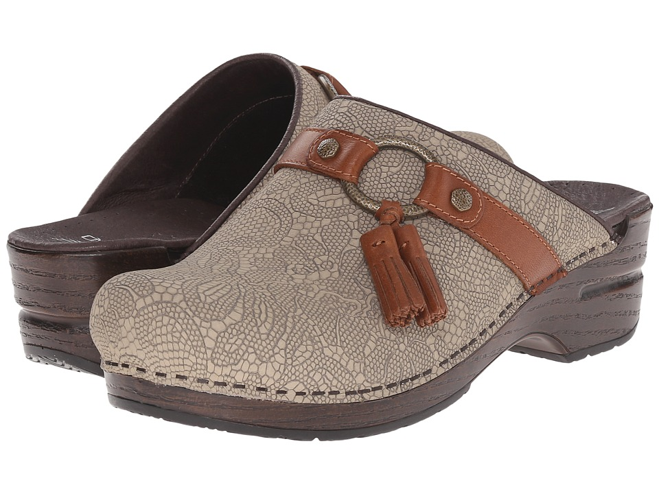 Dansko - Shandi (Taupe Lace Nubuck) Women's Shoes