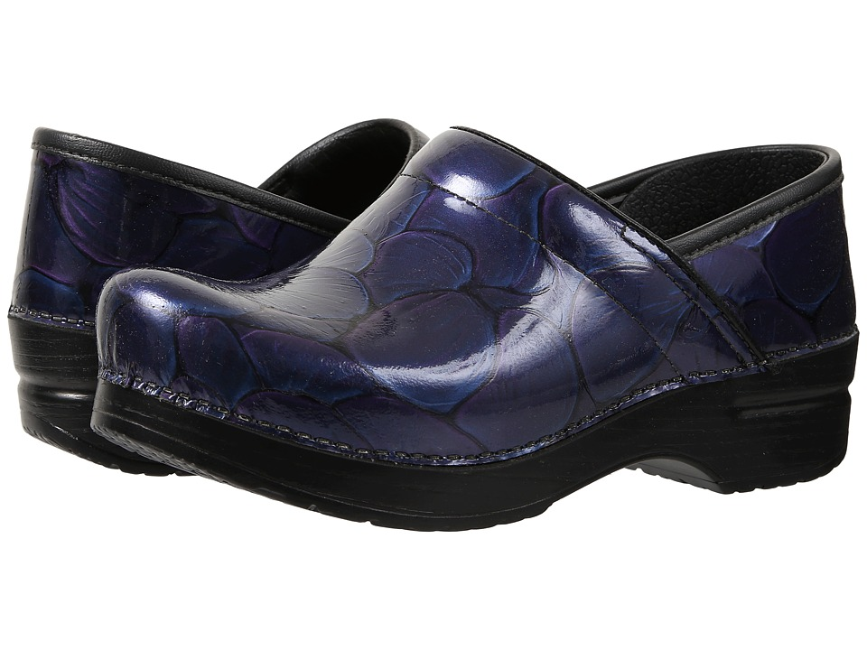 Dansko - Professional (Hibiscus Patent) Women's Clog Shoes
