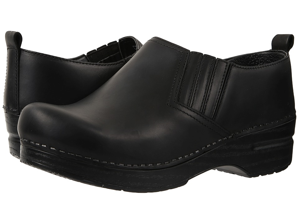 Dansko - Piet (Black Oiled) Women's Shoes