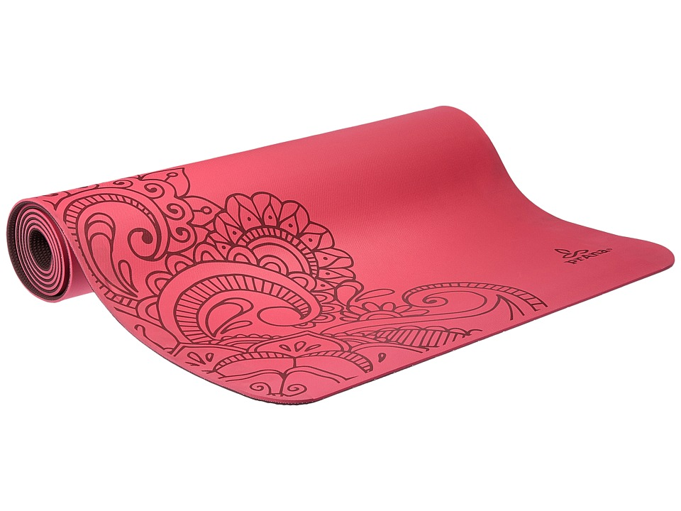 Prana - Henna E.C.O. Yoga Mat (Azalea) Athletic Sports Equipment
