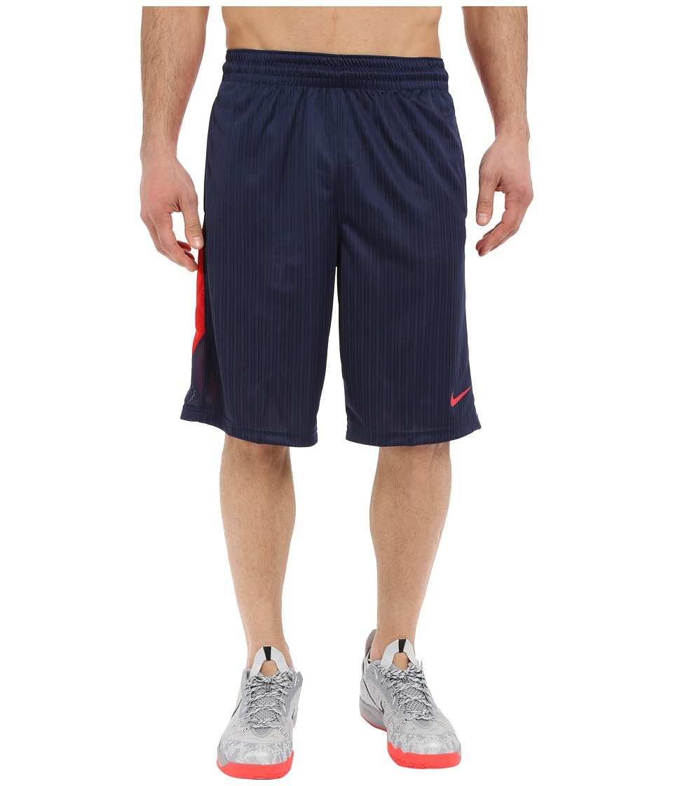 Nike - Layup Shorts 2.0 (Midnight Navy/University Red/Midnight Navy/University Red) Men's Shorts