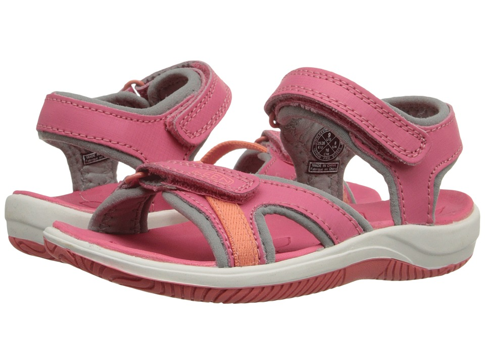 Keen Kids - Harper (Toddler/Little Kid) (Camellia Rose/Gargoyle) Girls Shoes