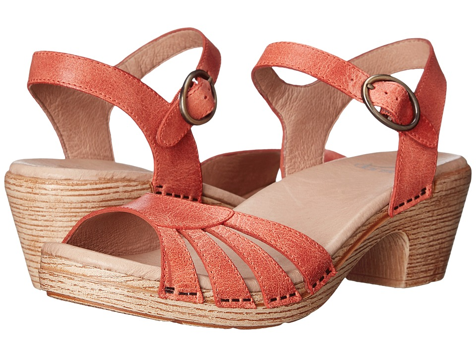 Dansko - Marlow (Oranged Washed Leather) Women's Sandals