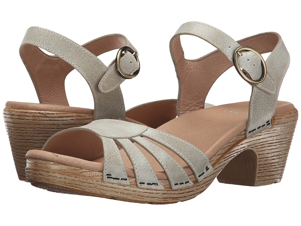 Dansko - Marlow (Oyster Washed Leather) Women's Sandals