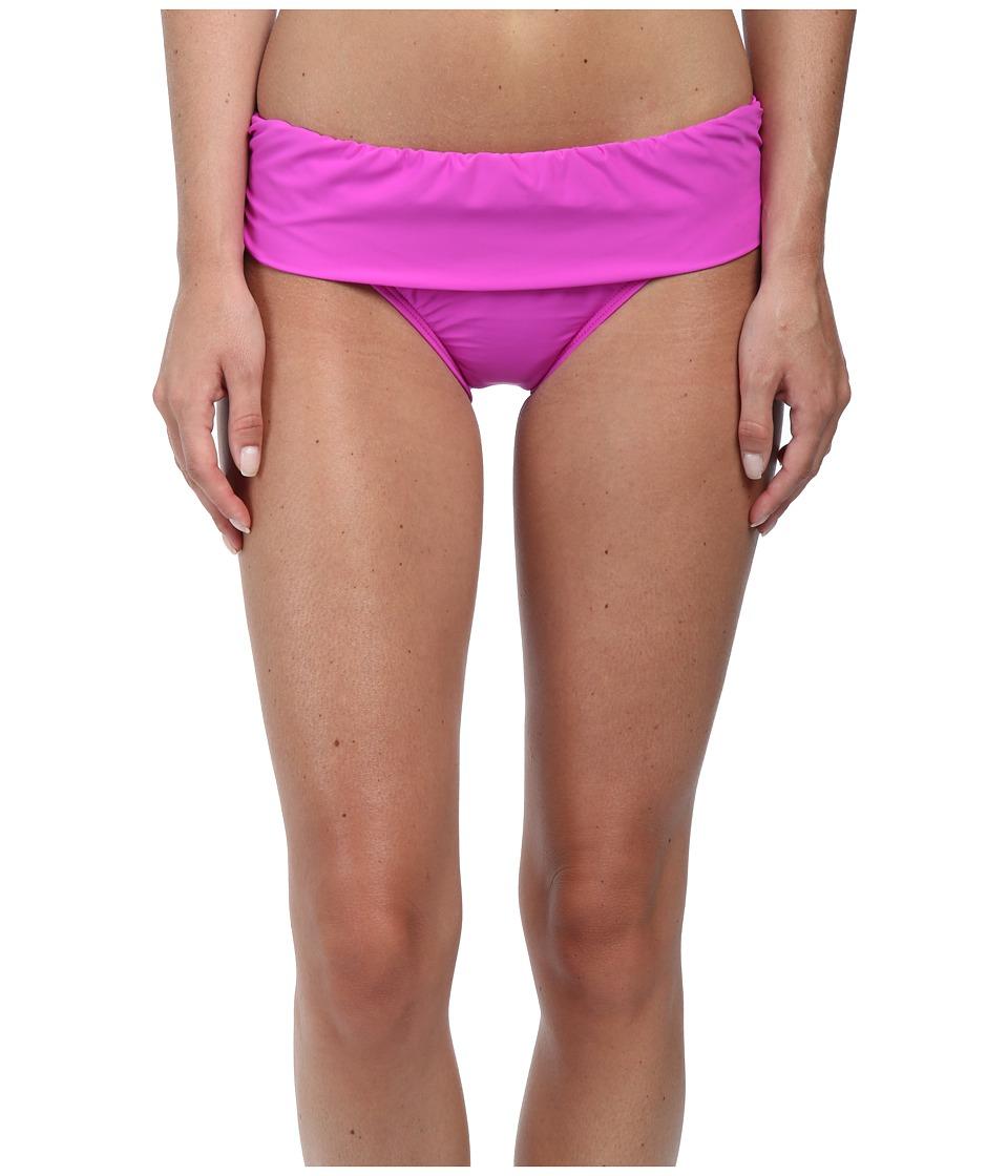 Image of Athena - Cabana Solids Banded Pant (Raspberry) Women's Swimwear