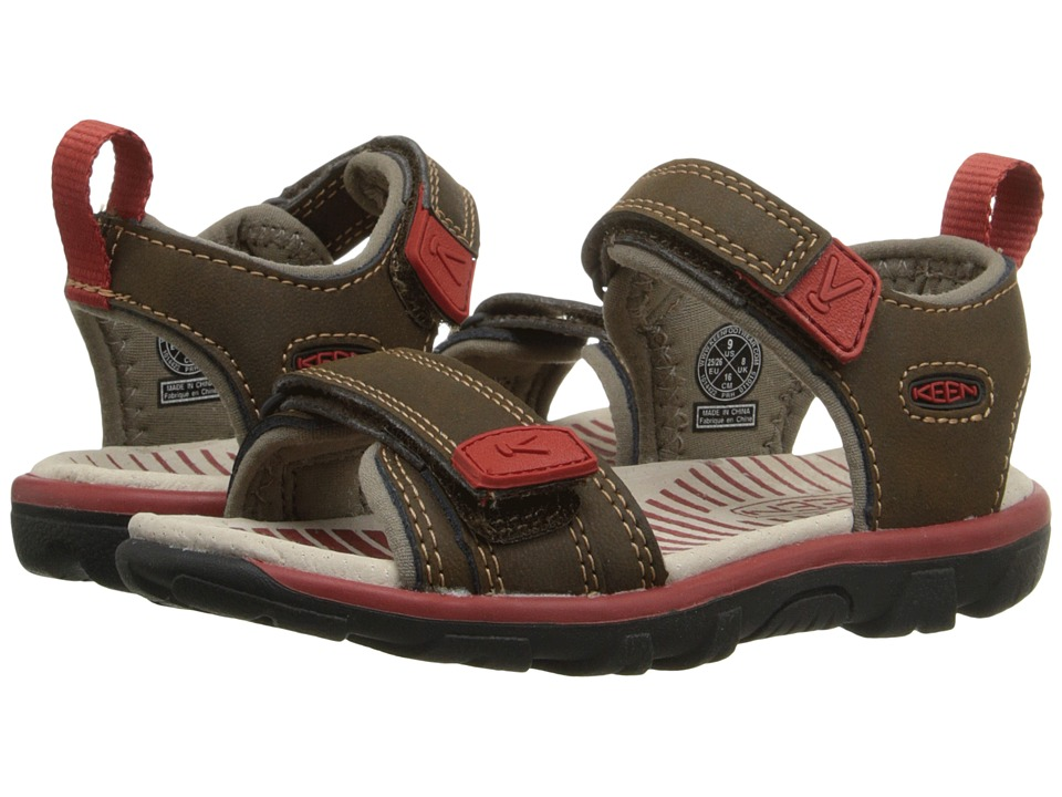 Keen Kids - Riley II (Toddler/Little Kid) (Cascade Brown/Bossa Nova) Boys Shoes