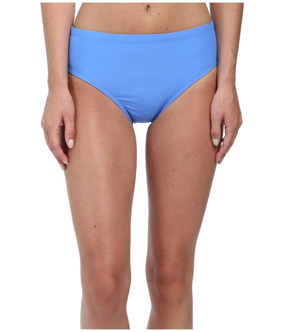 Athena - Cabana Solids Mid Waist Pant (Corn Flower) Women's Swimwear
