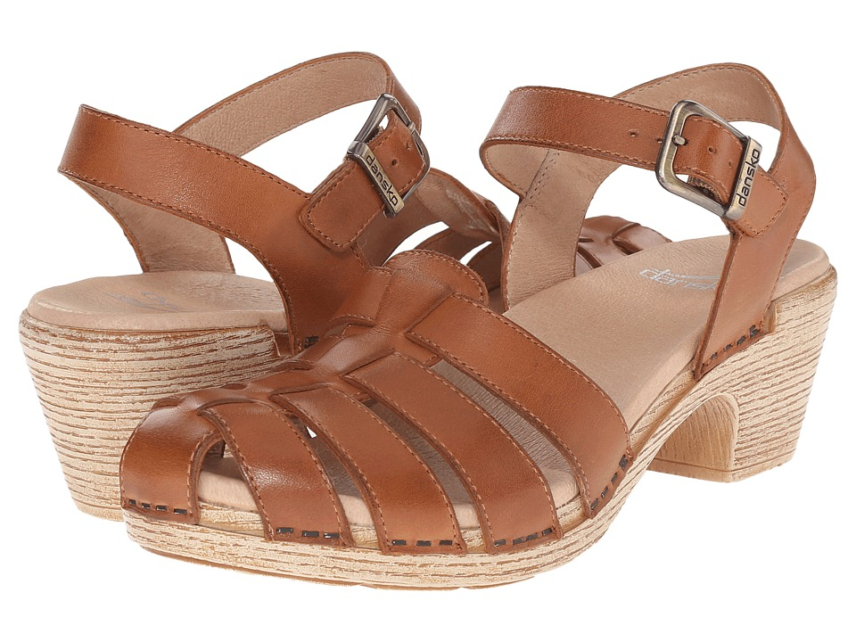 Dansko - Milly (Camel Full Grain) Women's Sandals