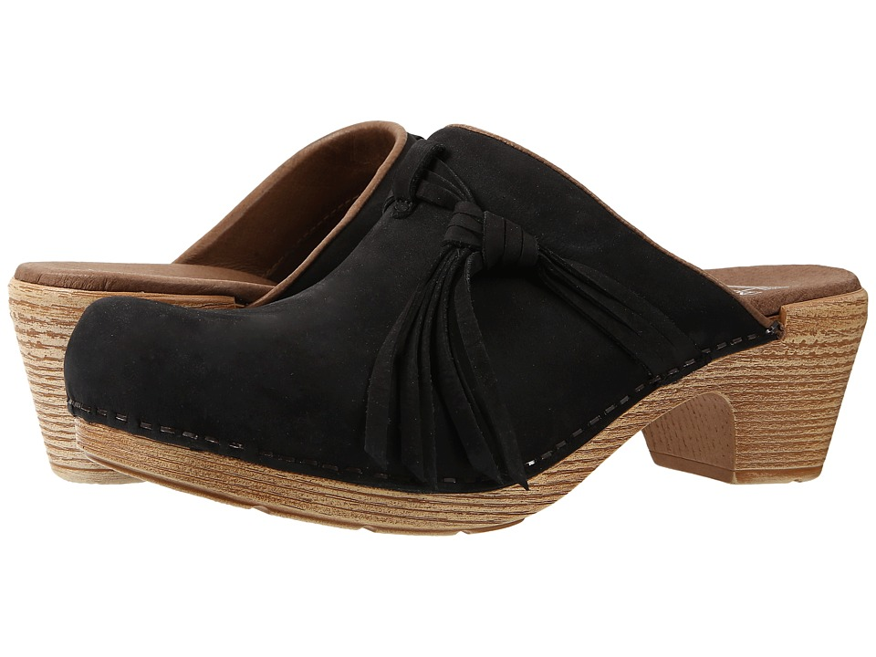 Dansko - Miriam (Black Milled Nubuck) Women's Clog Shoes