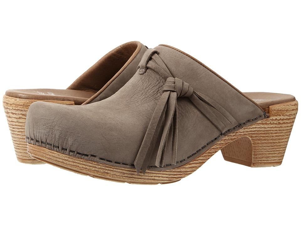 Dansko - Miriam (Taupe Milled Nubuck) Women's Clog Shoes
