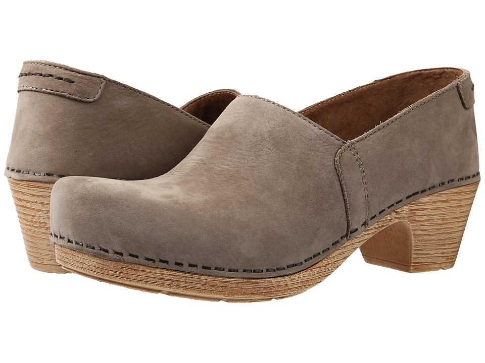 Dansko - Mavis (Taupe Milled Nubuck) Women's Shoes