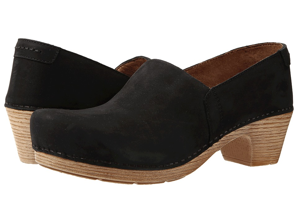 Dansko - Mavis (Black Milled Nubuck) Women's Shoes