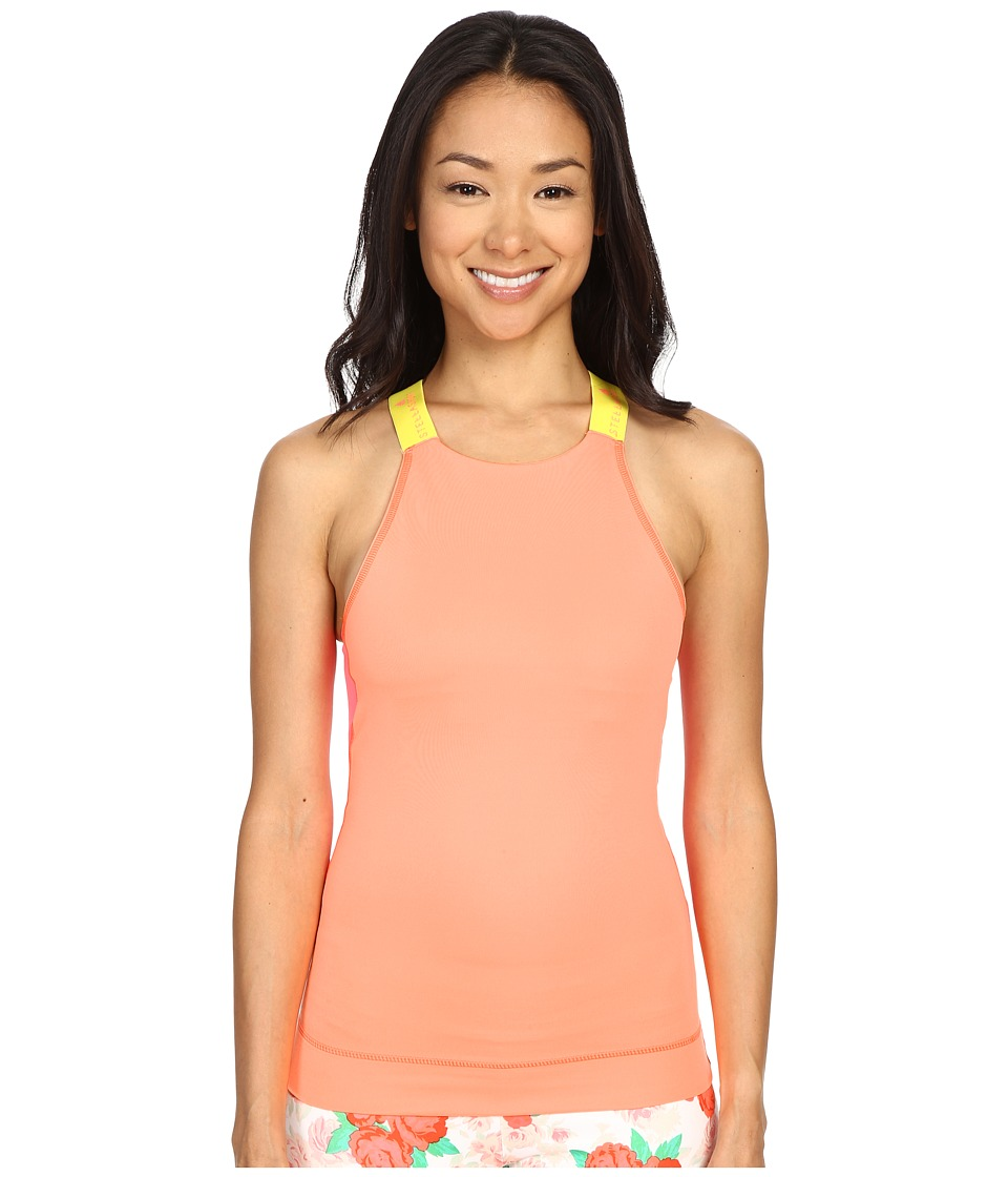 adidas - Stellasport SC Sport Tank Top (Flash Orange/Super Yellow) Women's Sleeveless