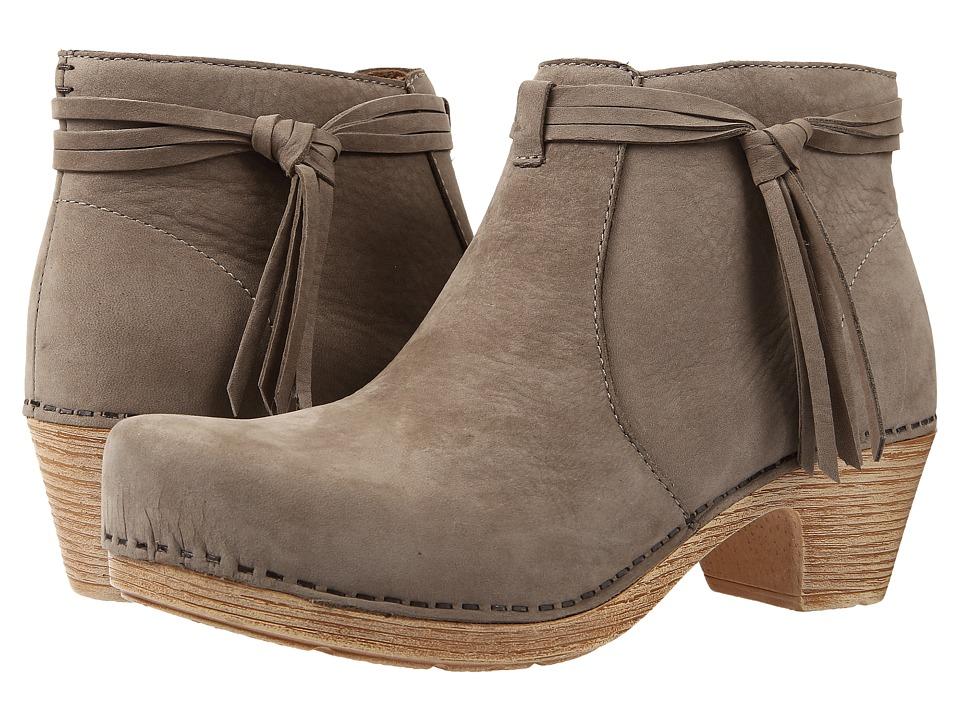 Dansko - Markie (Taupe Milled Nubuck) Women's Boots