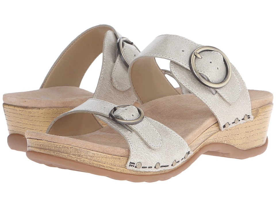 Dansko - Manda (Oyster Washed Leather) Women's Sandals