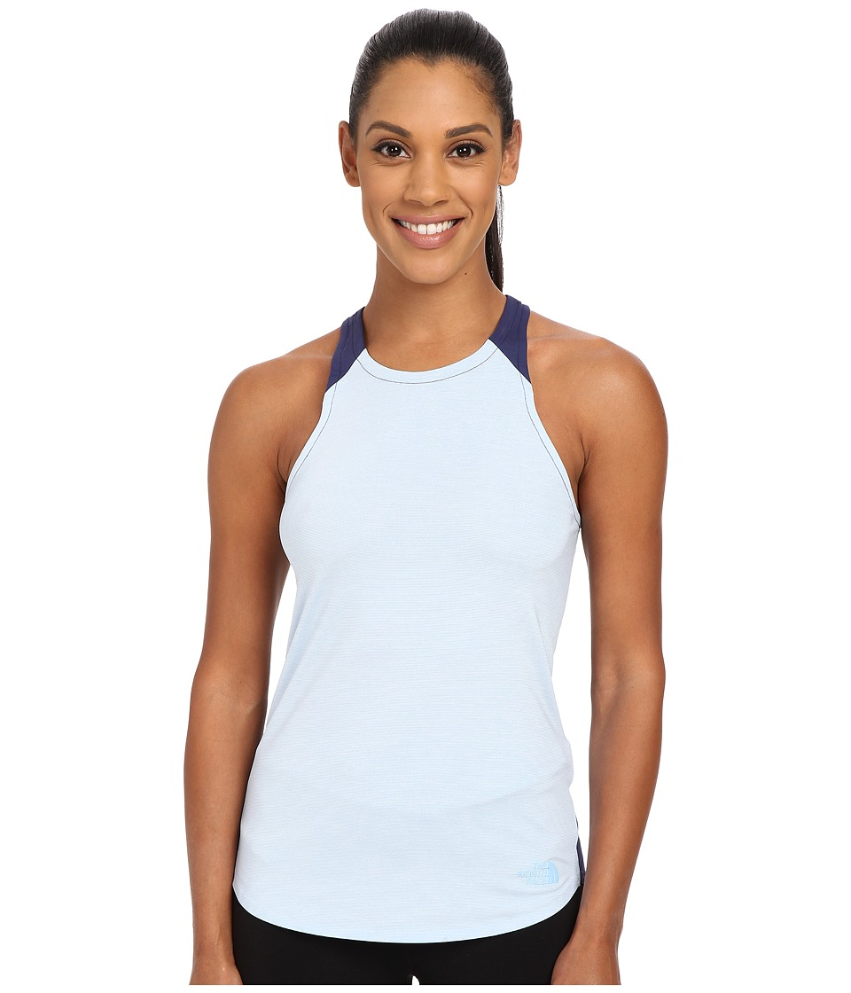 The North Face Dynamix Tank Top (Powder Blue Heather/Patriot Blue (Prior Season)) Women