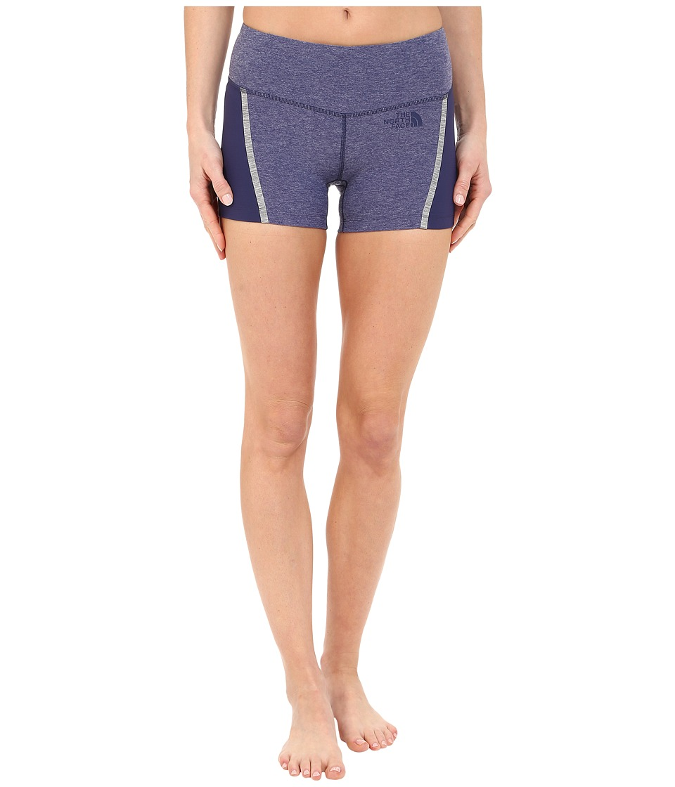 The North Face - Dynamix Short Tight (Patriot Blue Heather) Women's Shorts