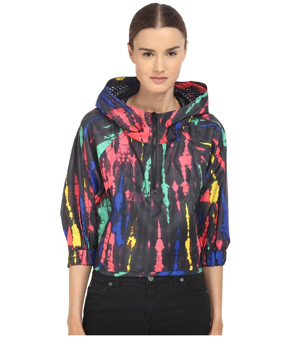 adidas - Stellasport SC Tie-Dye Jacket (Black) Women's Coat
