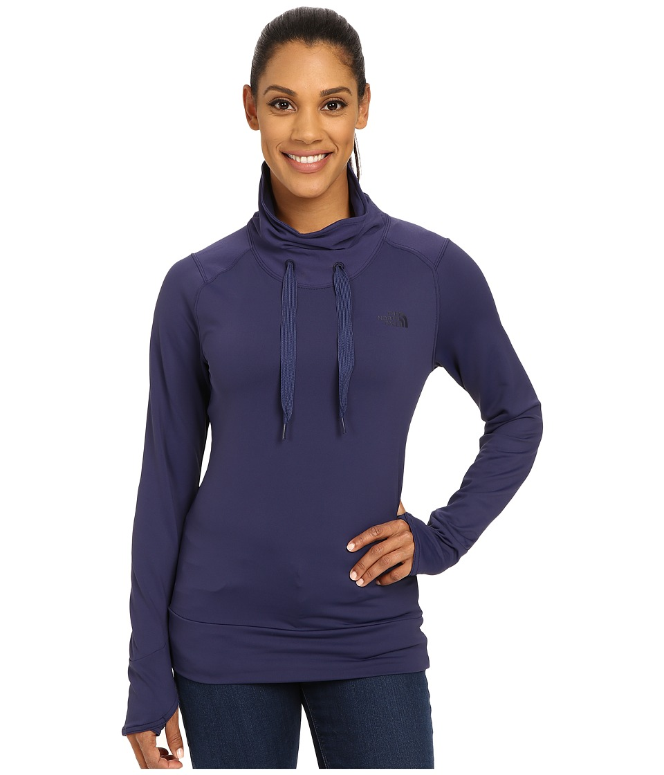 The North Face - Dynamix Tech Top (Patriot Blue) Women's Sweatshirt