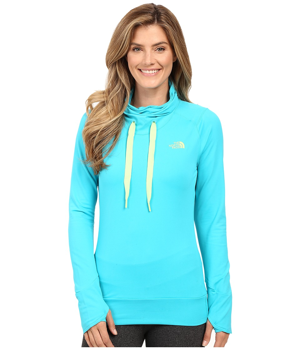 The North Face - Dynamix Tech Top (Bluebird) Women's Sweatshirt
