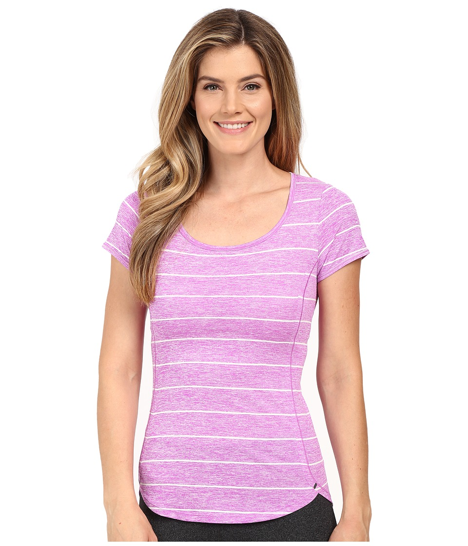 The North Face - Ma-X Short Sleeve (Sweet Violet) Women's Short Sleeve Pullover
