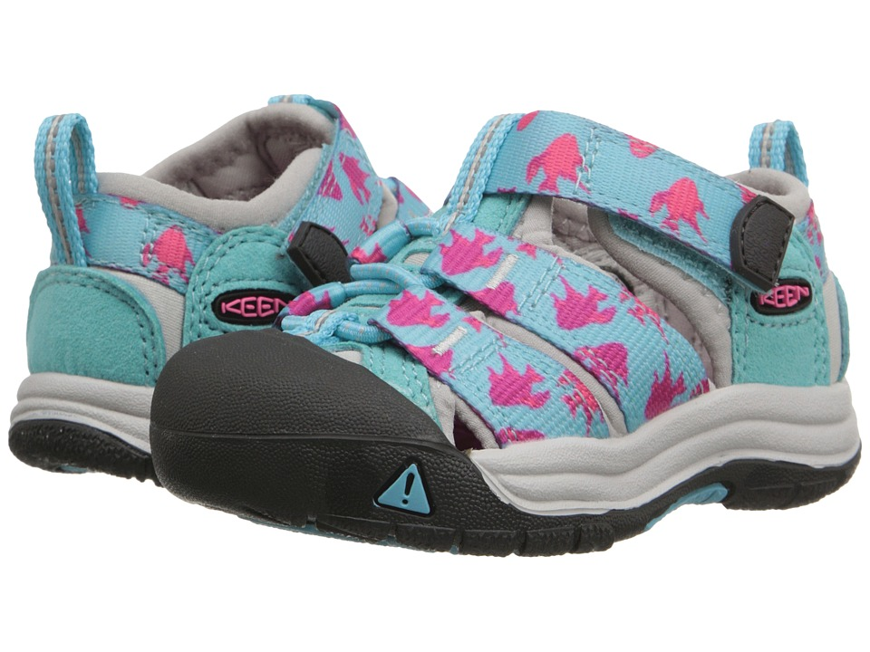 Keen Kids - Newport H2 (Toddler) (Capri Fish) Girls Shoes