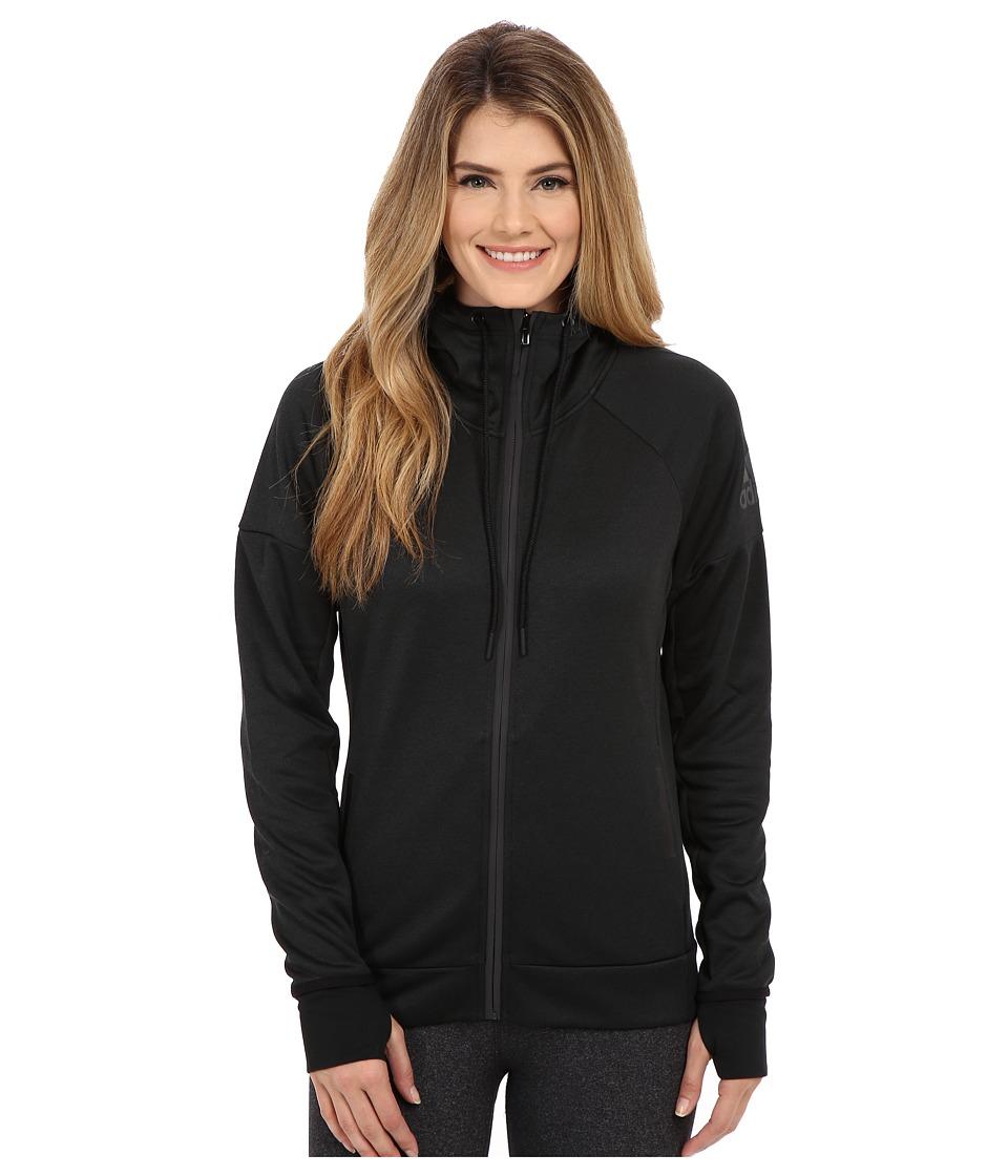 adidas - Daybreaker Hoodie (Black) Women's Sweatshirt