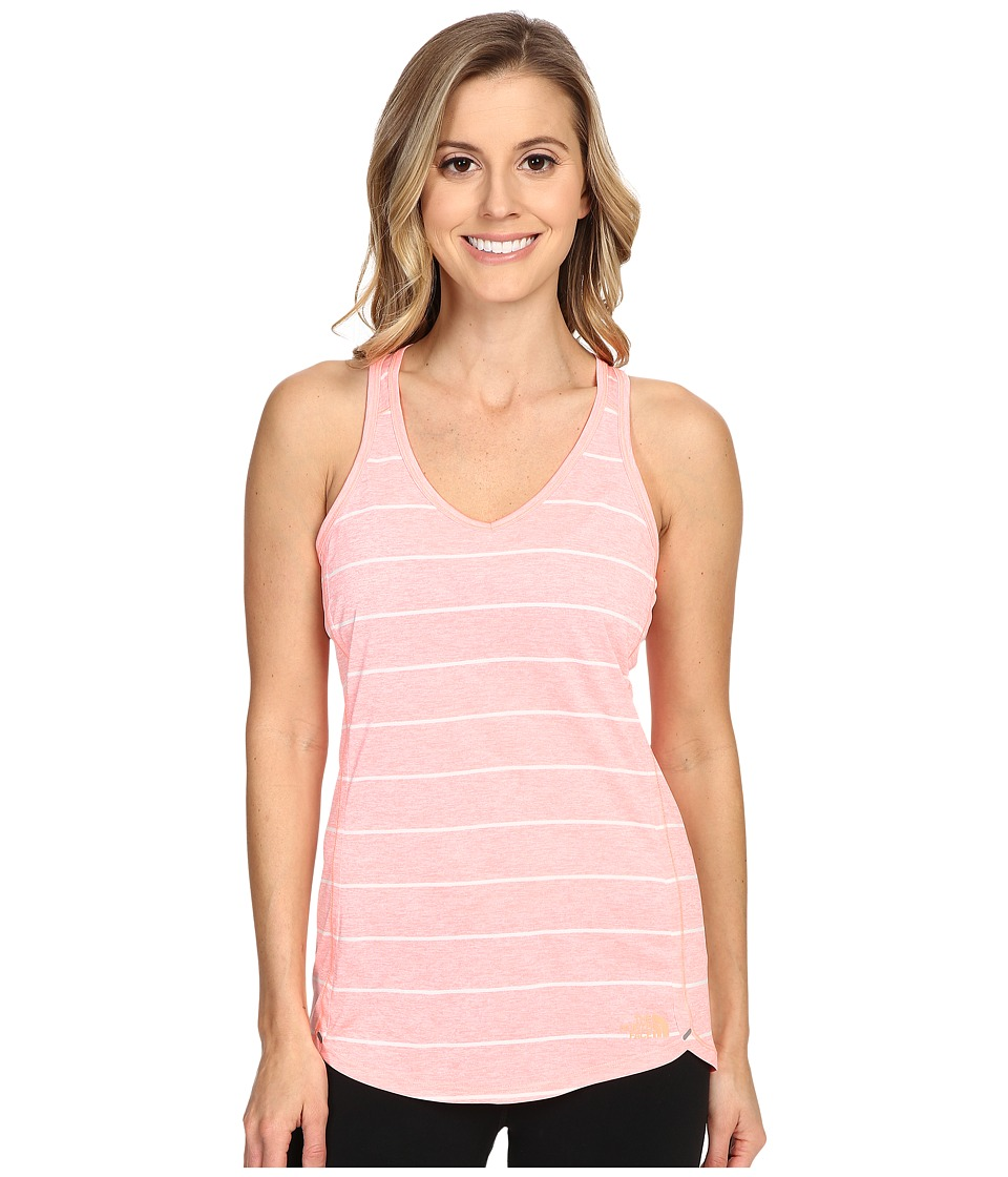 The North Face - Ma-X Tank Top (Neon Peach) Women's Sleeveless