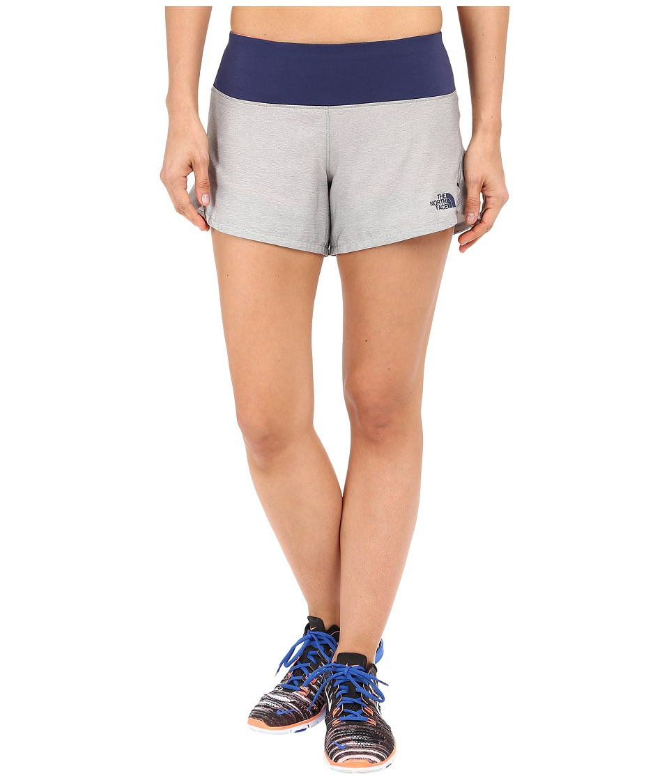 The North Face - Ma-X Shorts (TNF Light Grey Heather/Patriot Blue) Women's Shorts