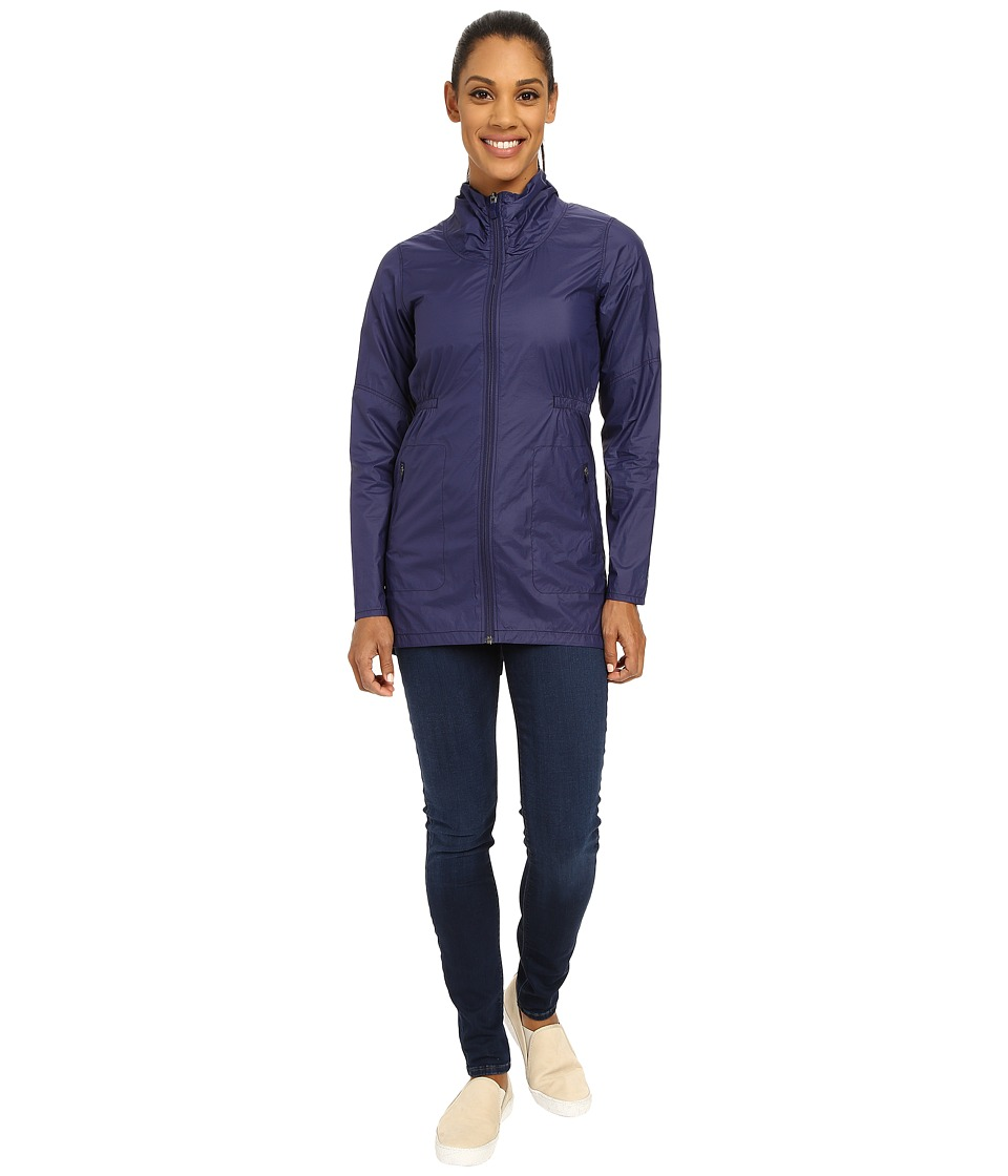The North Face - Nueva Trench Jacket (Patriot Blue) Women's Coat
