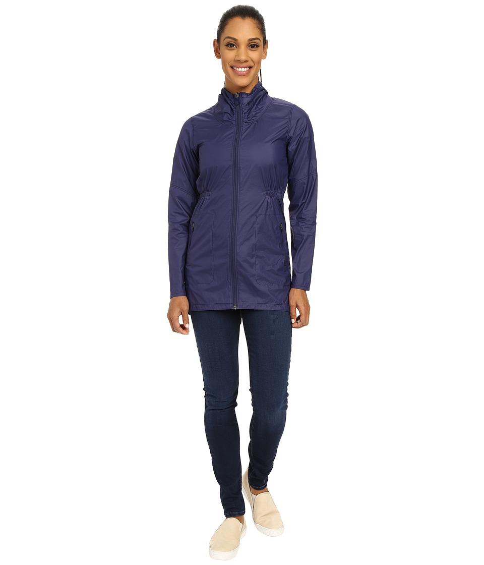 The North Face Nueva Trench Jacket (Patriot Blue (Prior Season)) Women