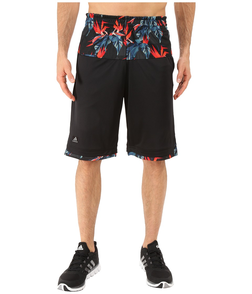 adidas - Urban Jungle Shorts (Black) Men's Shorts