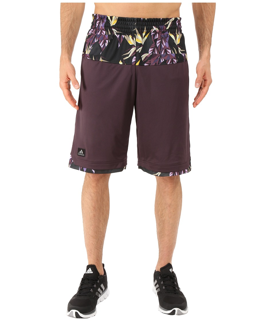 adidas - Urban Jungle Shorts (Mineral Red) Men's Shorts