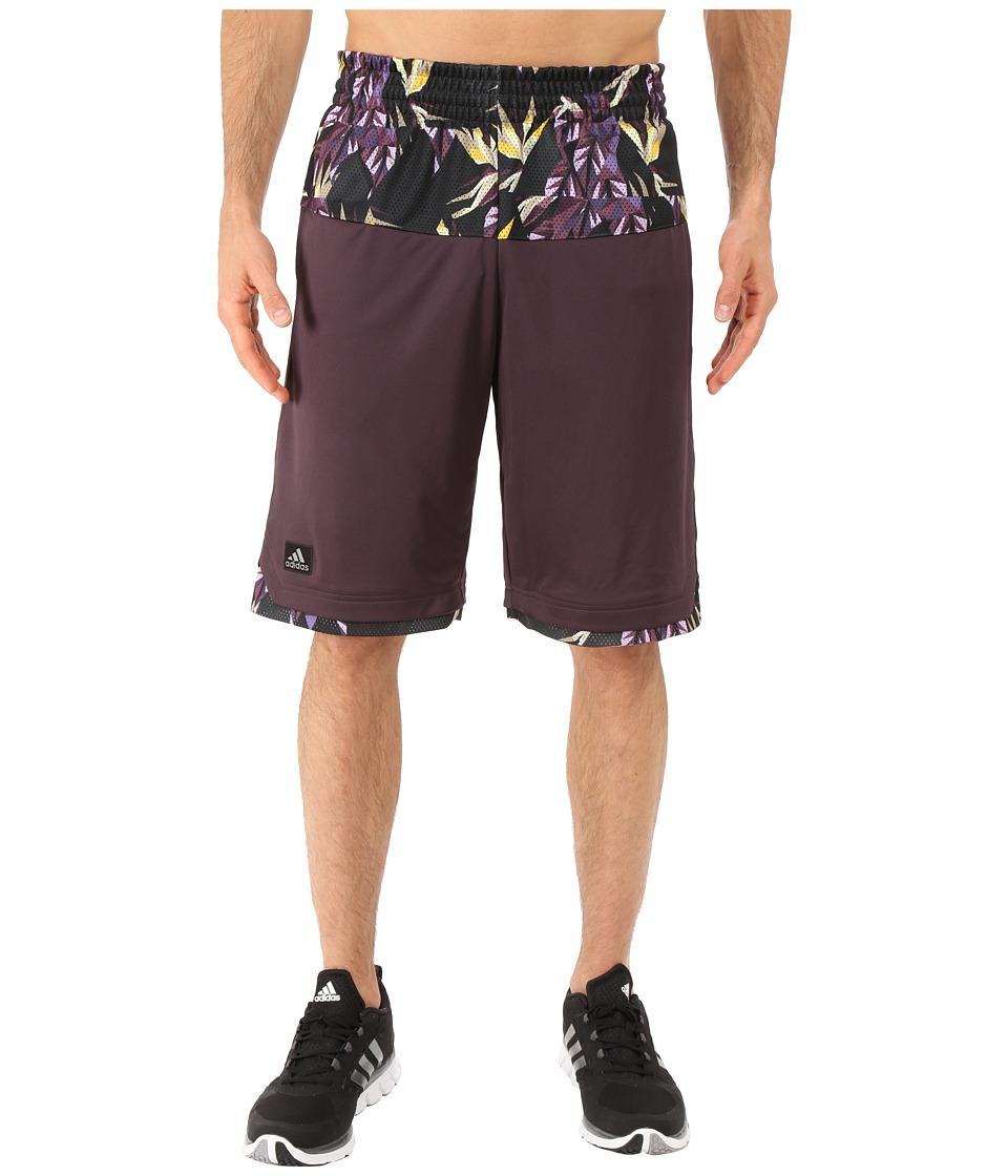 adidas - Urban Jungle Shorts (Mineral Red) Men's Shorts