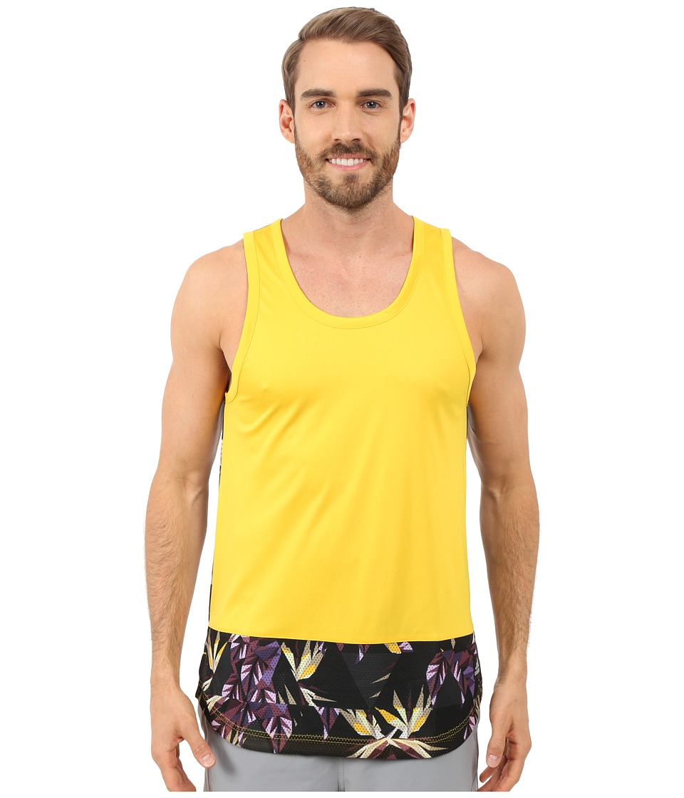 adidas - Urban Jungle Tank Top (EQT Yellow) Men's Sleeveless