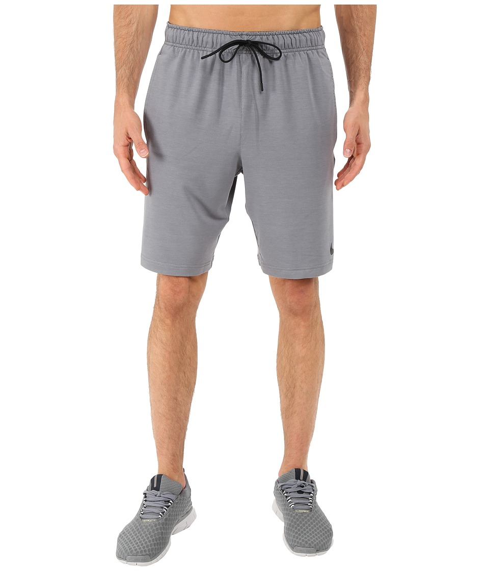 Nike Dri-FITtm Fleece Training 8 Short (Cool Grey/Black) Men