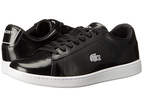 Lacoste - CARNABY EVO PRV (Black On Black) Women