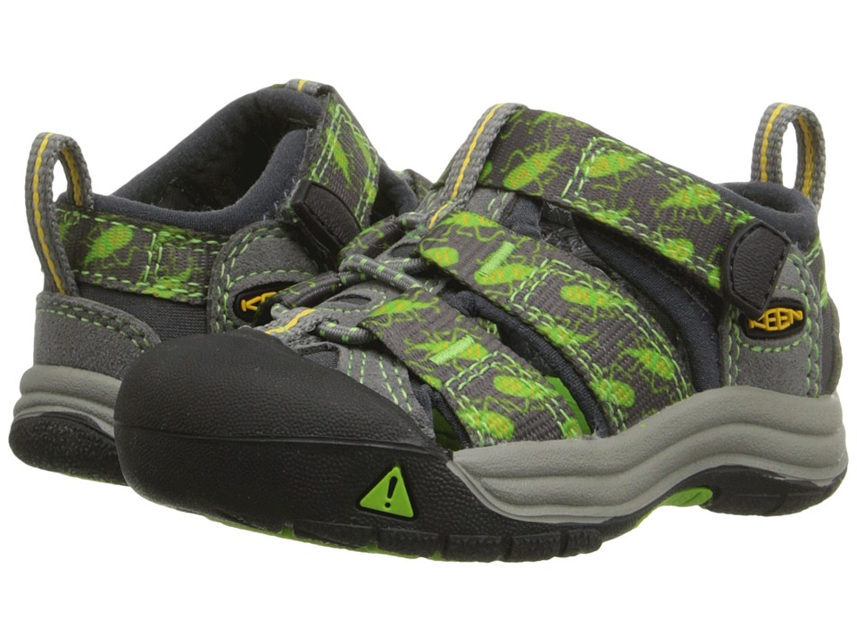 Keen Kids - Newport H2 (Toddler) (Gargoyle Bugs) Boys Shoes