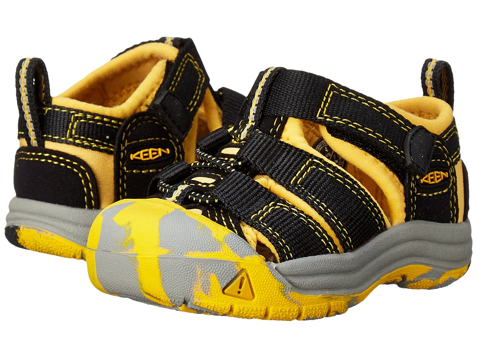 Keen Kids - Newport H2 (Toddler) (Crushed KEEN Yellow) Boys Shoes