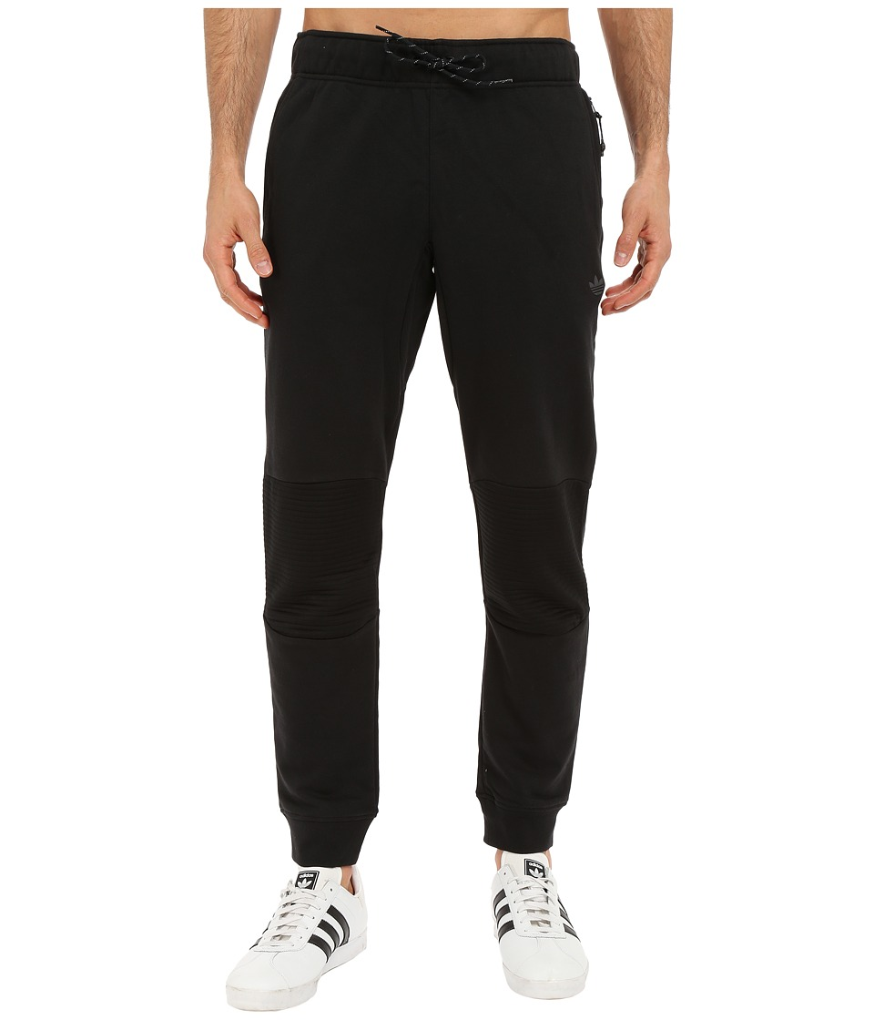 adidas Originals - Sport Luxe Moto Jogger Pants (Black) Men's Casual Pants