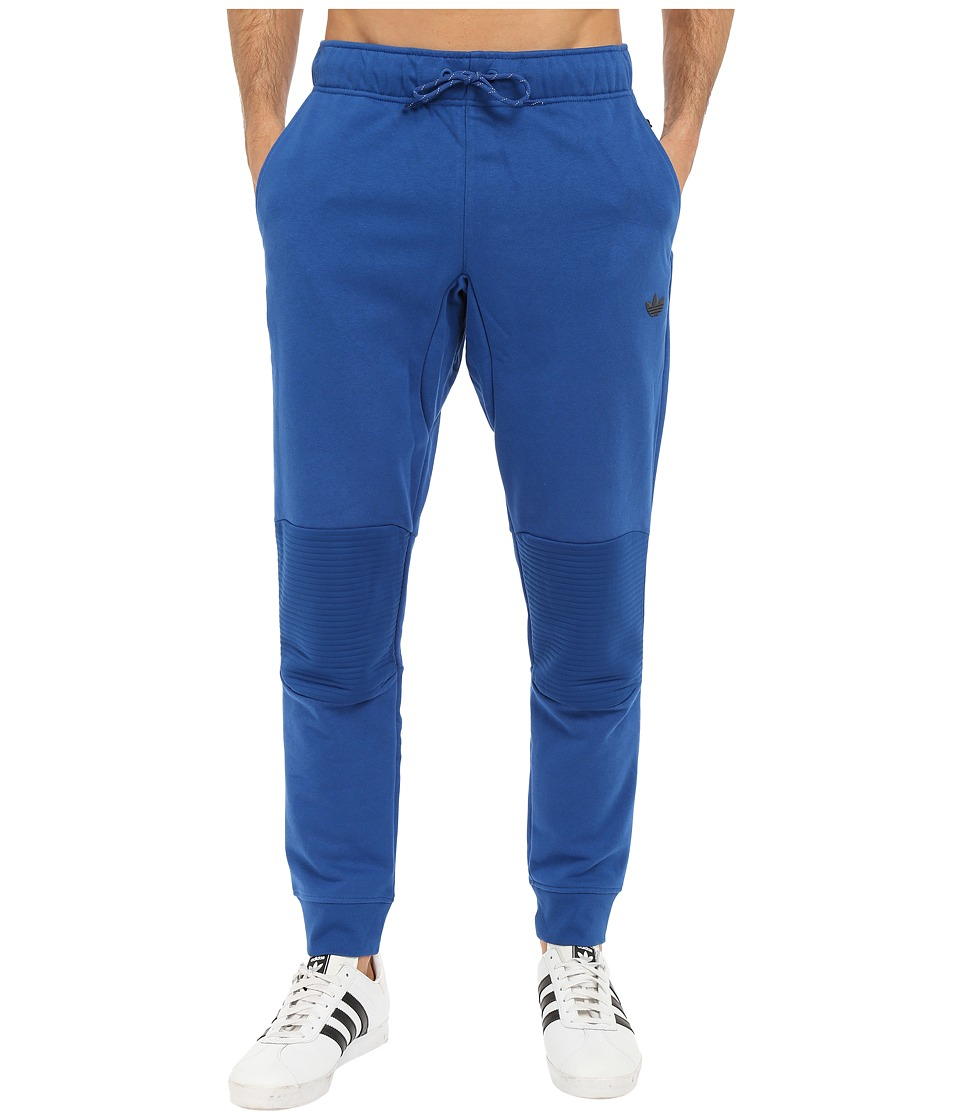 adidas Originals - Sport Luxe Moto Jogger Pants (EQT Blue) Men's Casual Pants