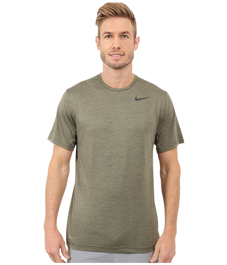 Nike Dri-FITtm Training Shirt (Cargo Khaki/Black) Men