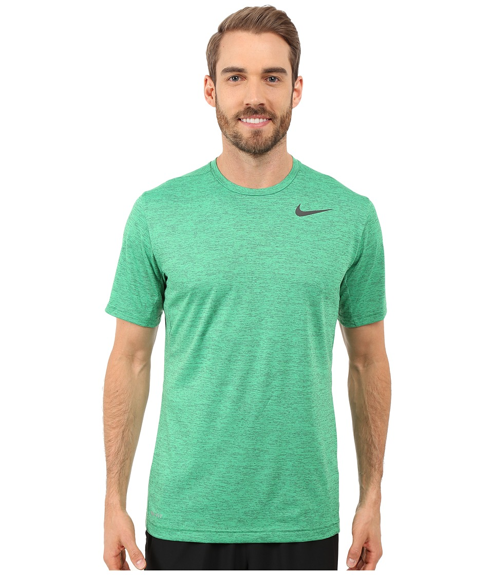 Nike - Dri-FIT Training Shirt (Spring Leaf/Black) Men's Clothing